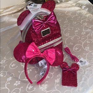 Imagination Pink Loungefly Bundle